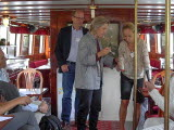 Delegationen för Göta älvs resa längs med älven den 20 augusti 2018.