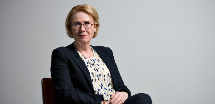 Porträttbild av generaldirektör Åsa-Britt Karlsson.
