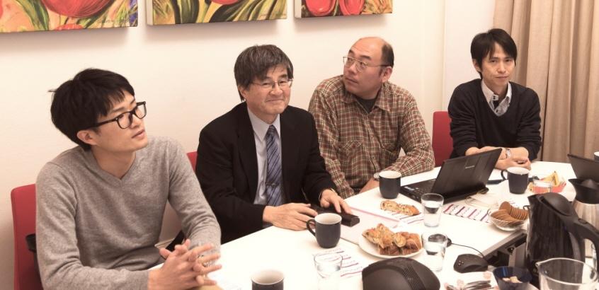 Besök från Pari och TIT, Japan